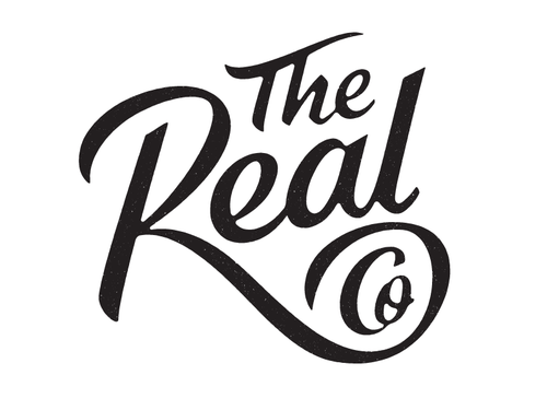 lettering - The Real Co by Simon Walker
