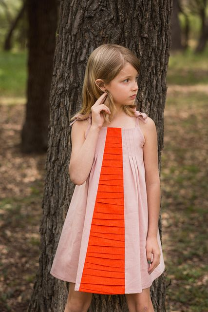 A Persimmon Dress