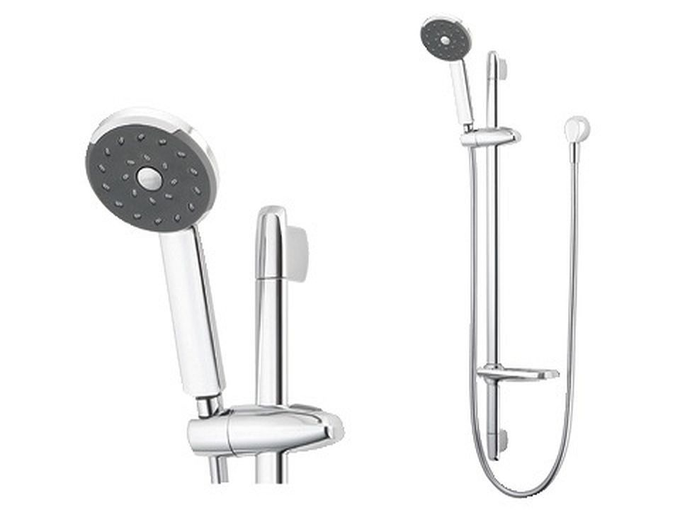 Kiri Rail Shower - Satinjet | Bathroom | Pinterest | Shower rail