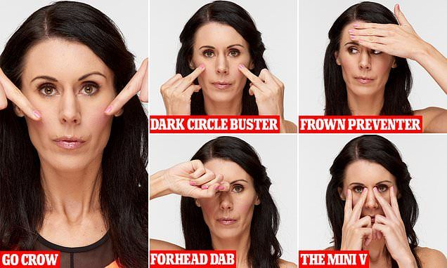 Face yoga exercises that could make you look years younger