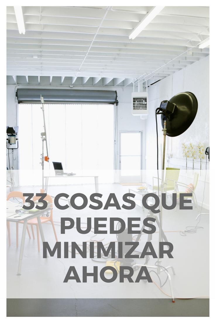 33 cosas que puedes minimizar directamente de tu casa for Organizar casa minimalista