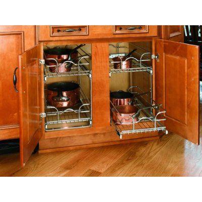 Amazon Com Rev A Shelf 5wb Series Wire Baskets Rev A Shelf Base Cabinets Shelves