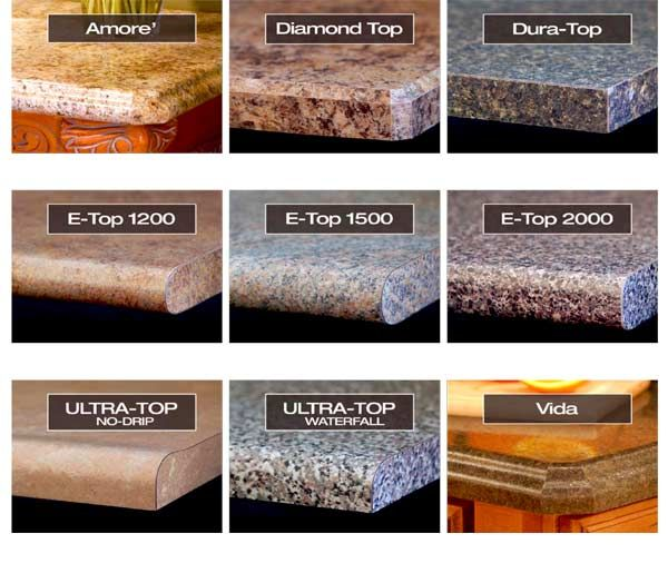Edge Profiles Kitchen Countertops Laminate Kitchen And Bath