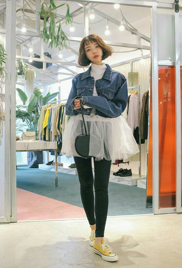 Korean flannel outfits  Pin by Anna tongjeen on stylenanda  Pinterest  Korea and Winter