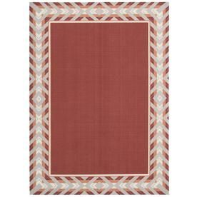 Waverly Sun And Shade Poppy Rectangular Indoor Outdoor Machine Made Ar Area Rugs Indoor Outdoor Area Rugs Rugs