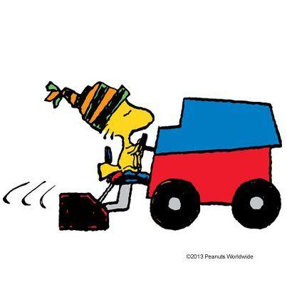 Woodstock Zamboni Driver Preferably On The Bird Bath Zamboni Snoopy Love Snoopy Comics