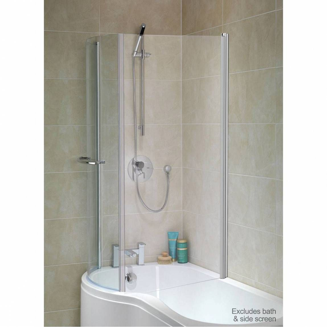 6mm Glass Door For P Shaped Shower Bath   Ideas for the House ...