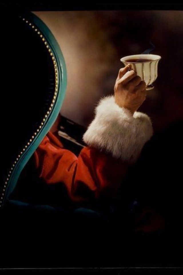 Santa Claus's cup of Hot Chocolate