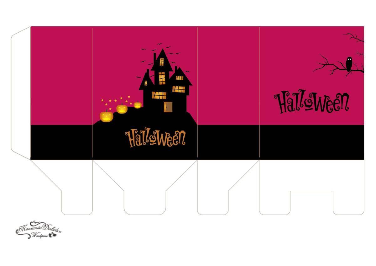 Bonito Páginas En Color Para Halloween Ornamento - Dibujos Para ...