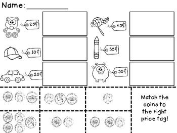 Printables Money Worksheets First Grade 1000 images about counting money worksheets on pinterest coins and shopping