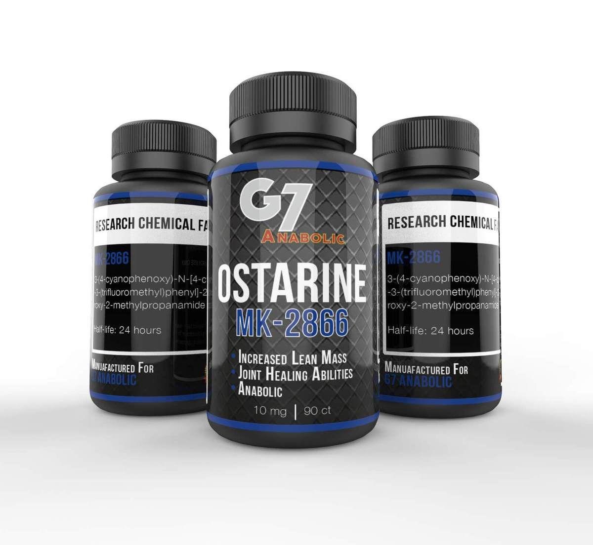 Ostarine mk-2866 | 10mg 90 capsules | Fitness | Increase