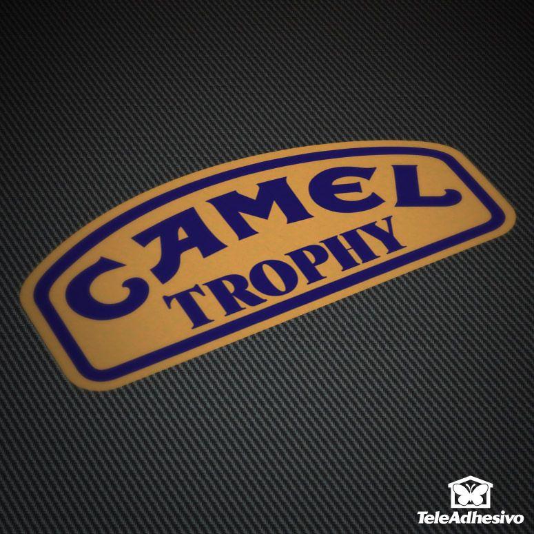 Pegatina Camel Trophy #camel #pegatina #adhesivo #tuning #moto #TeleAdhesivo