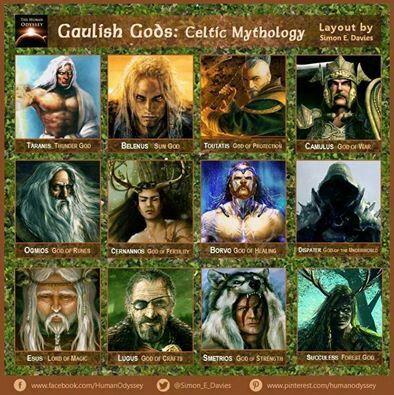 Gaulish Gods | Wicca in 2019 | Mythology, Celtic mythology