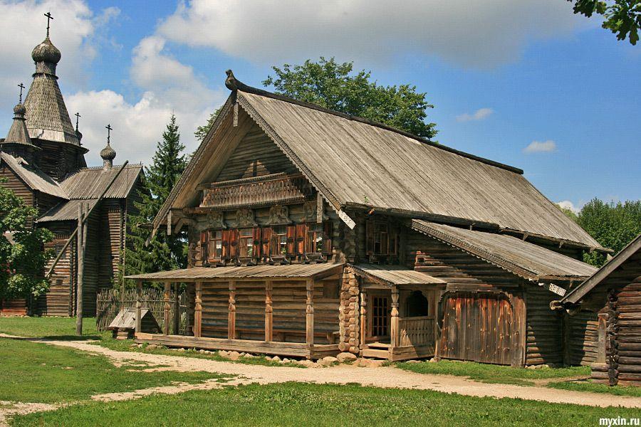 Дом в древней руси картинки