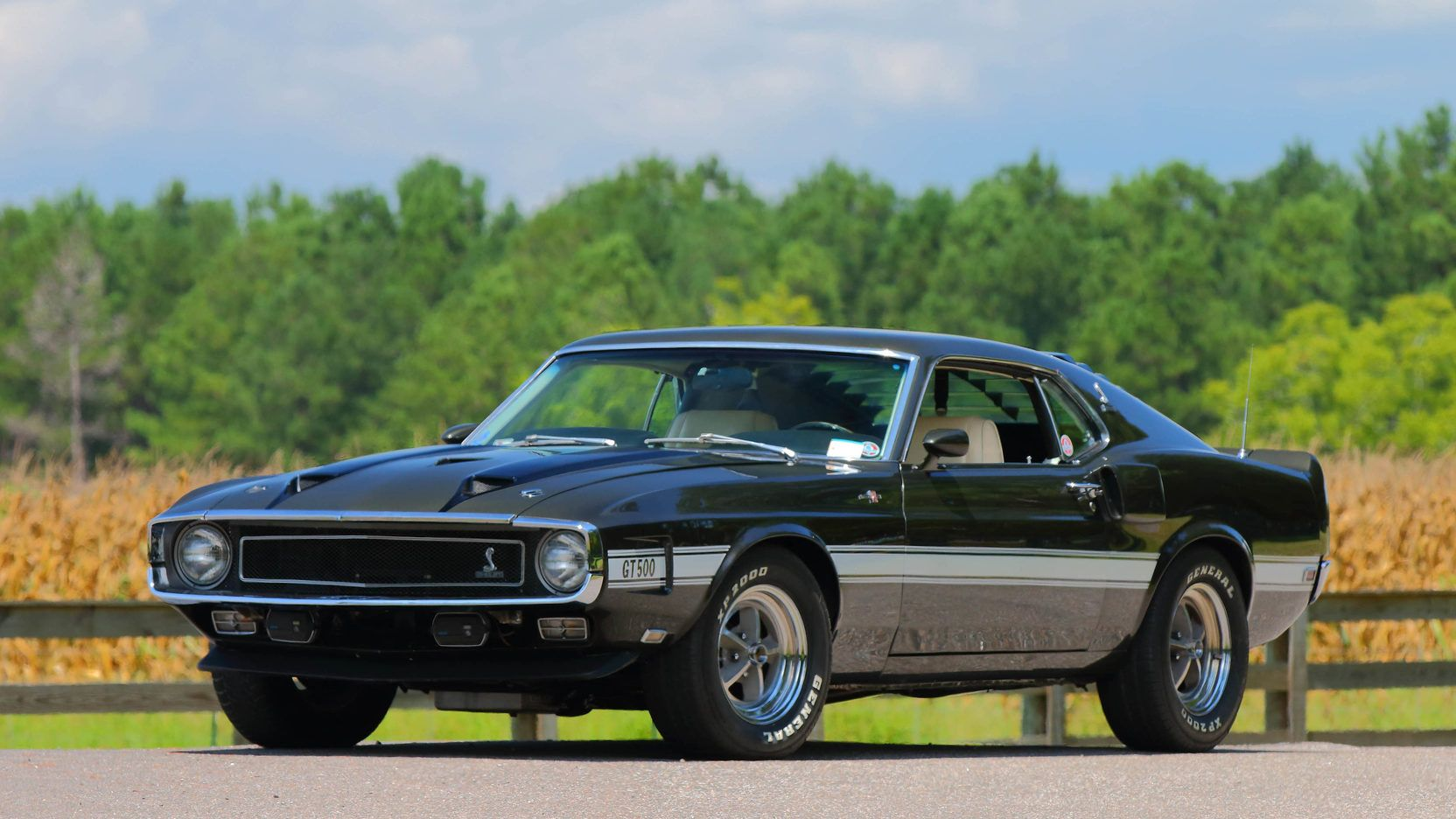 1970 shelby gt500 fastback 1 print image