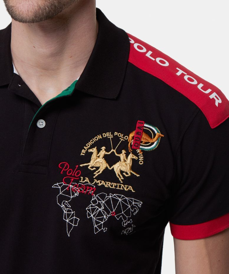 74ada8dd95 La Martina Slim Fit Maserati Polo Shirt available at Jules B ...