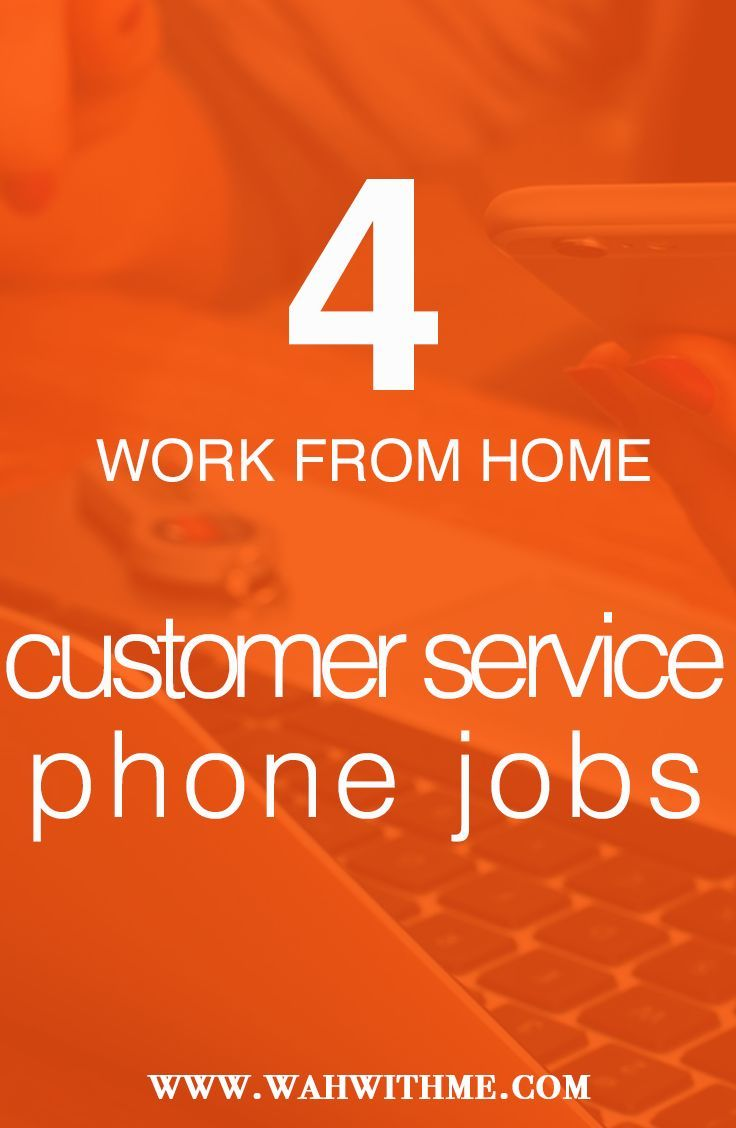 4 Trusted Work at Home Jobs in Customer Service (With