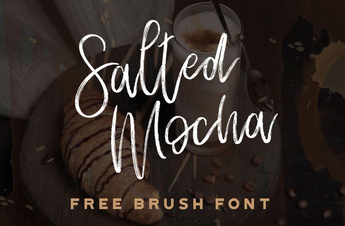 Download Free Font: Salted Mocha | Free handwritten fonts, Free ...