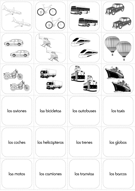 Transporte Transport In Spanish Worksheet Spanish Worksheets Printable Worksheets Spanish [ 2716 x 1920 Pixel ]