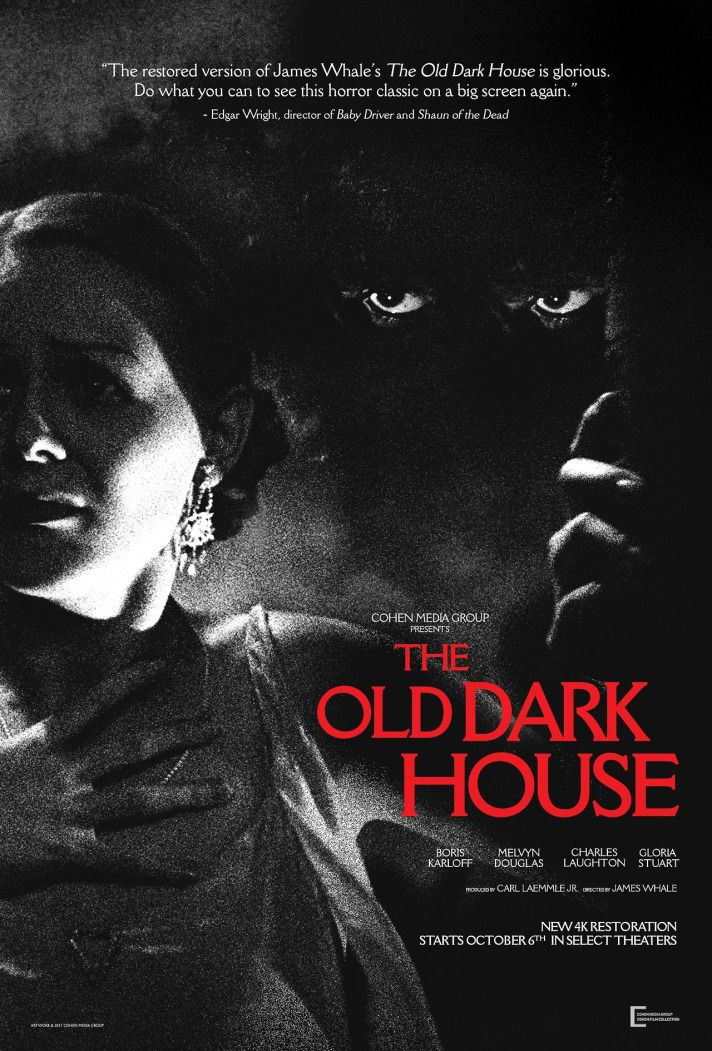 Beware The Night The Old Dark House Is A 1932 American Comedy