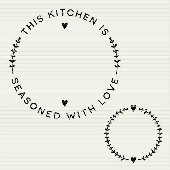 Diy Personalize Svg Kitchen Seasoned With Love Frame Apron Etsy Monogram Frame Love Frames Cricut