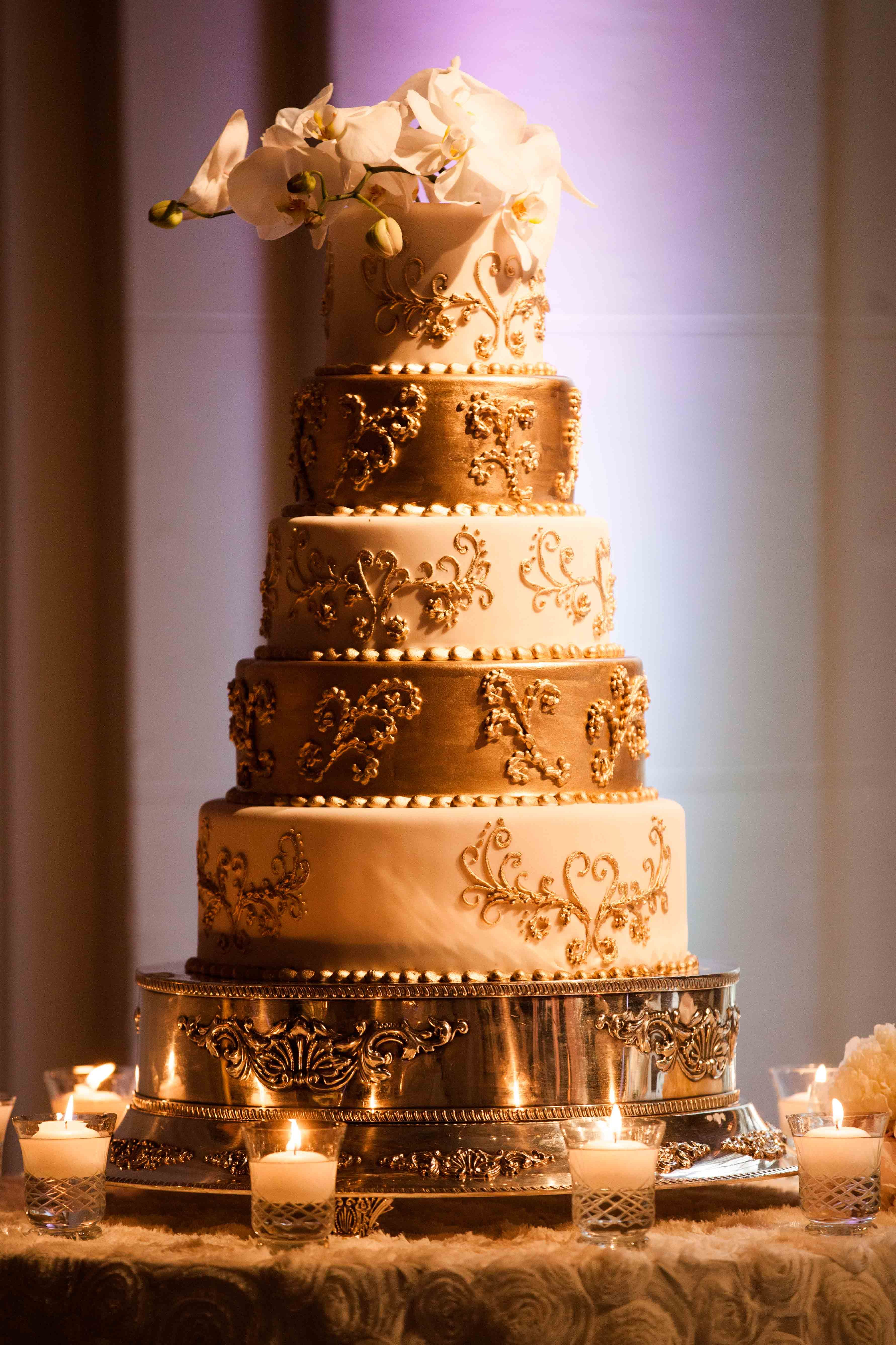 Wedding Cake Designed By The Breakers Palm Beach