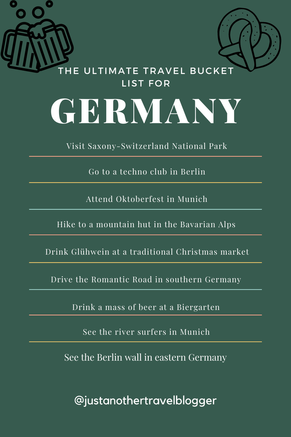 The Ultimate Travel Bucket List to Visit Germany in 20   Germany ...