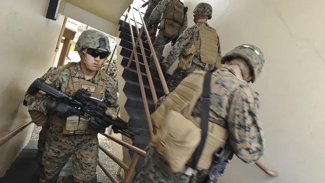 Downsized Marine Relocation Plan Detailed Marine Corps Bases Marine Fire Training