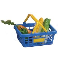 Groceries and Shopping Basket in Holiday 2012 from CP Toys on shop.CatalogSpree.com, my personal digital mall.