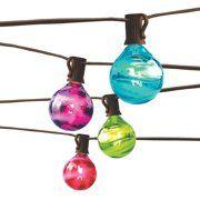g30 patio string lights with 25 clear globe bulbs wedding outdoor rh pinterest com