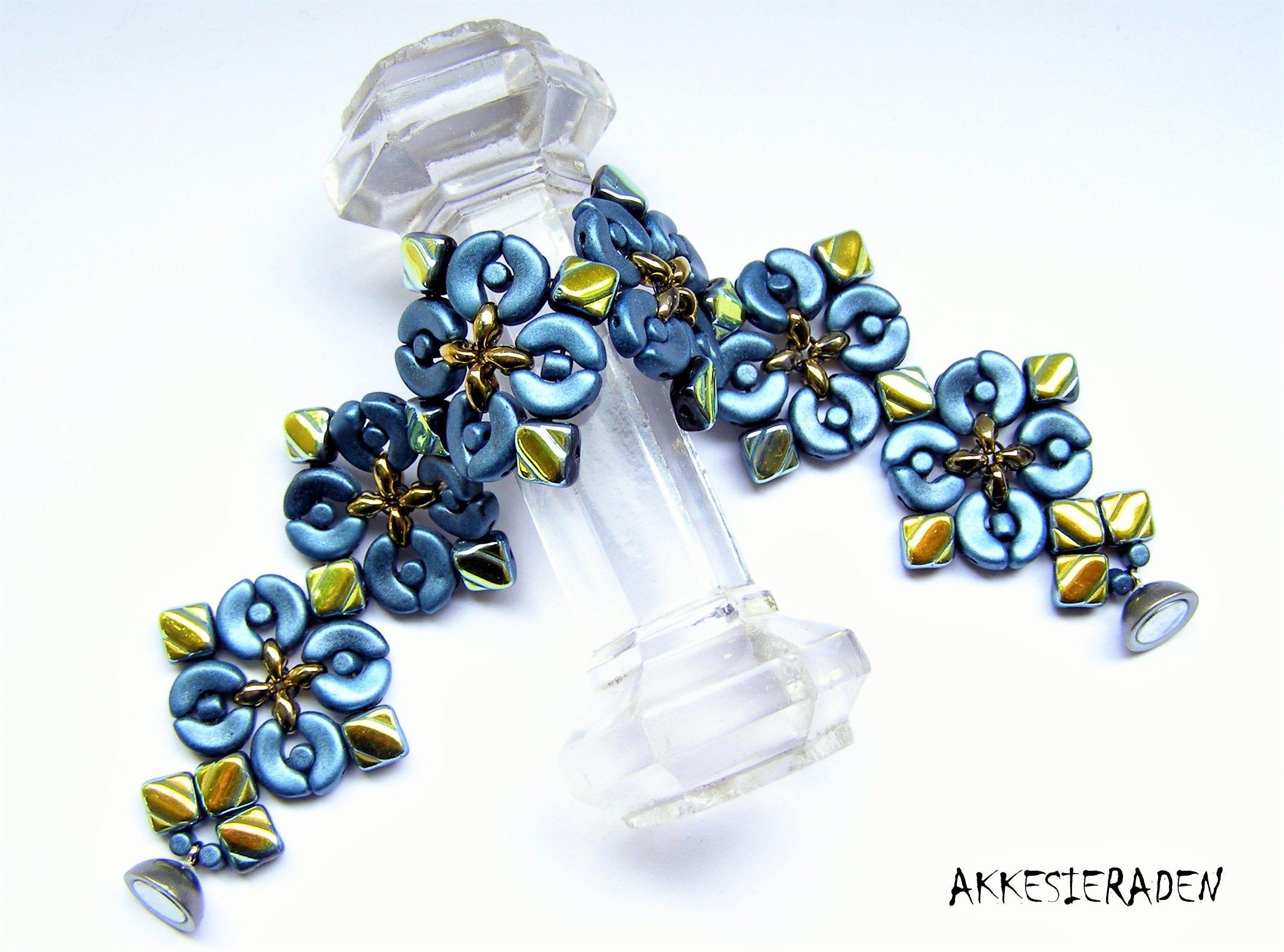 Designed by akke jonkhof my beadwork pinterest perlenkette armband en schmuck basteln - Perlenarmband basteln ...