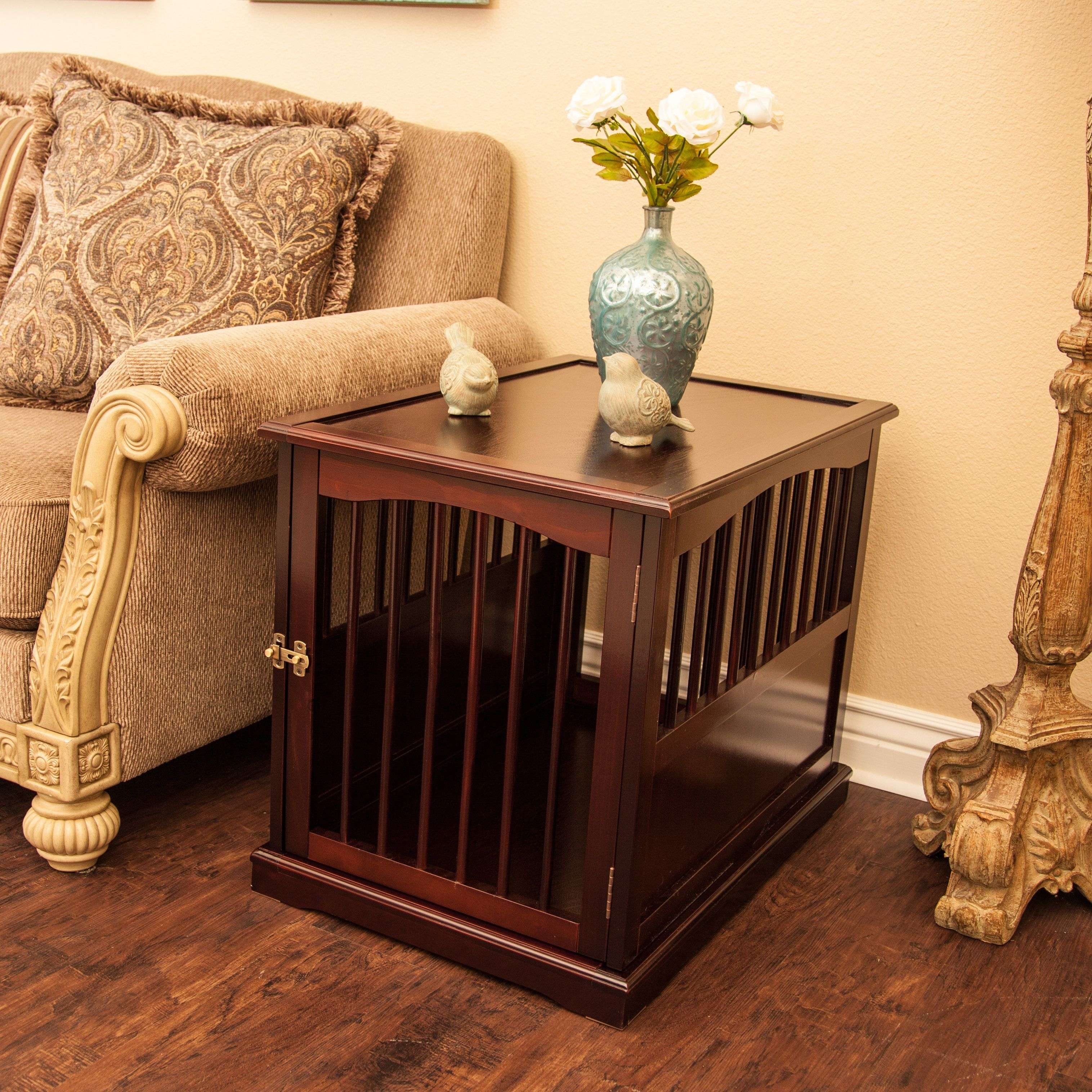 Build your own dog crate end table crate end tables dog