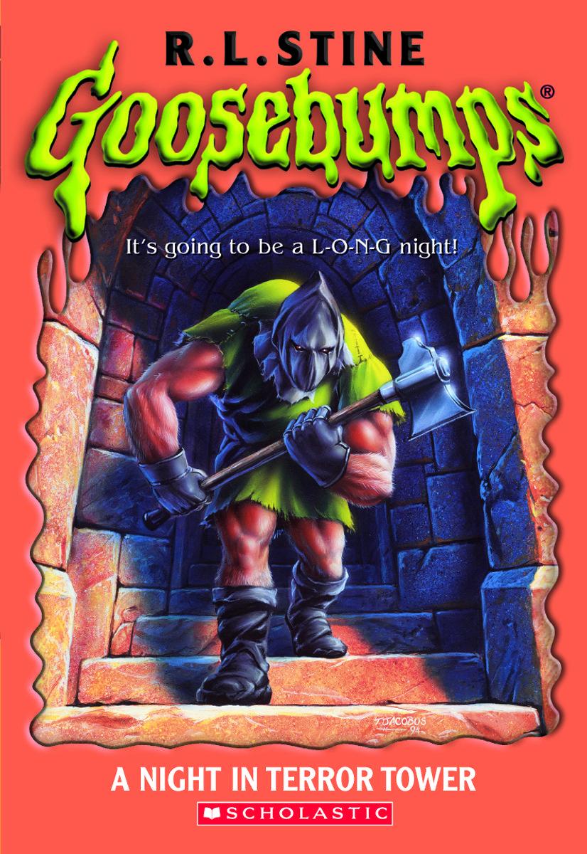 Night Book Cover Ideas : Goosebumps a night in terror tower original