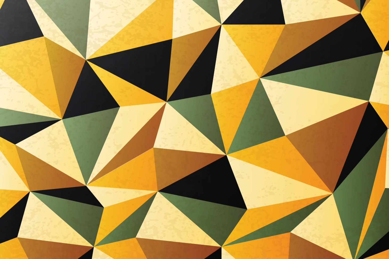 Yellow and Green Pattern Wall Mural | Design services, Wall murals ...