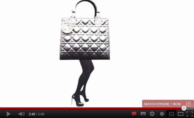 Marion Cotillard designs her own Dior purse