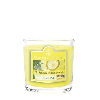 Colonial Candle: Old Fashioned Lemonade 3.5 oz Oval Jar Candle