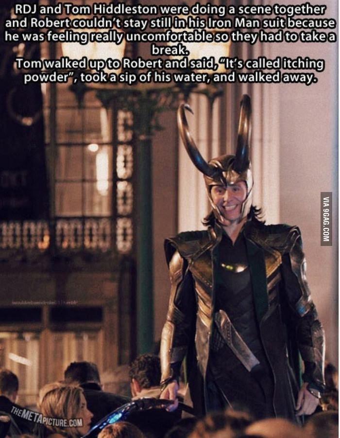 Ladies and gentlemen... Tom Hiddleston