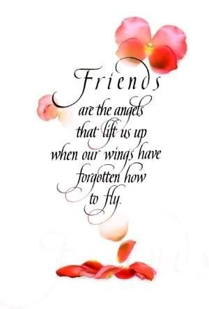 Friends are the angels that lift us up…. friendship quote friend friendship qu…