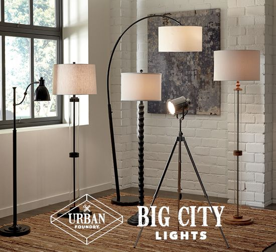 Big city lights floor lamps urban foundry home accessories big city lights floor lamps urban foundry home accessories and furniture ashley furniture aloadofball Image collections