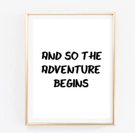 Swell And So The Adventure Tumblr Pintrest Quote Typographic Print Download Free Architecture Designs Scobabritishbridgeorg