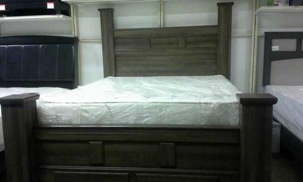 Craigslist Ashley Furniture Queen Bed Storage Drawers 400 Bed
