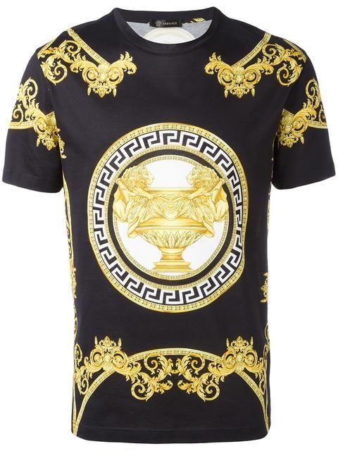 a0eb392236cf VERSACE La Coupe des Dieux T-shirt. #versace #cloth #t-shirt | Food ...