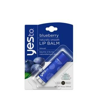LOVE All the Yes To Carrots Lip Butters!!  This is the ONLY lip butter I use. Can't wait to try this Blueberry. It says it's a lip balm but I think it might be a butter? So moisturizing and not waxy!