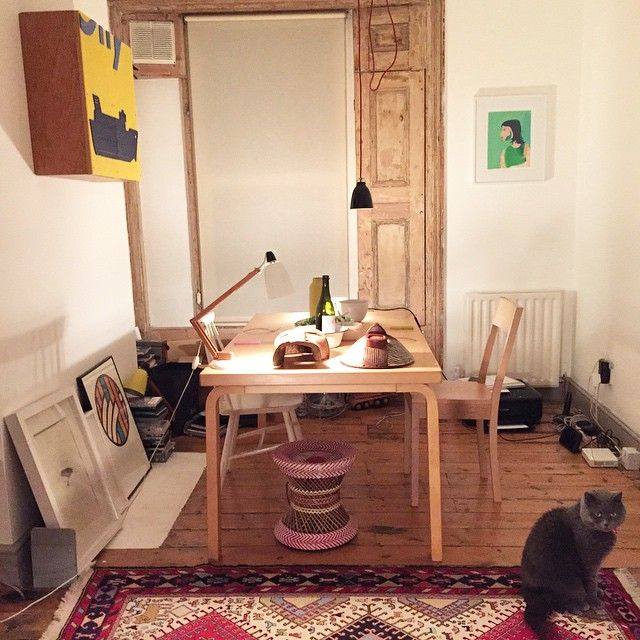 "115 likerklikk, 10 kommentarer – LBJ - Lillie O'Brien (@londonboroughofjam) på Instagram: ""Thank you @abelsloane1934 for our new dining room table! After 6 years I can finally entertain"" London"