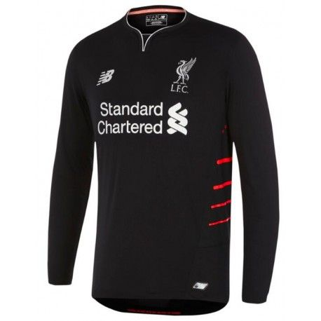 d2df8bd394812 Camiseta Nueva del Liverpool Away 2017 Manga Larga