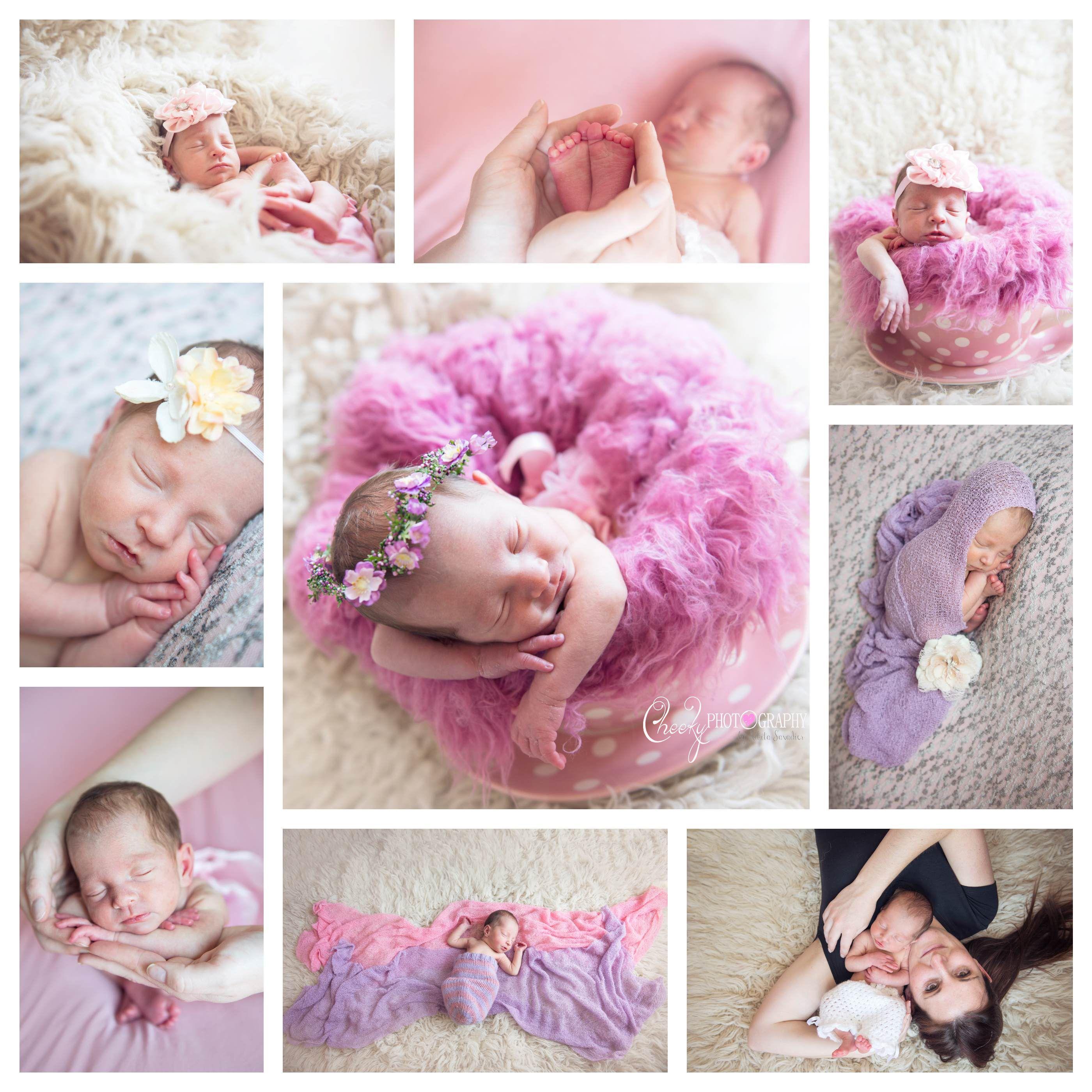 Baby Newborn Photography Props Flowers Pillow Girls Boys Photo Shoot Accessories
