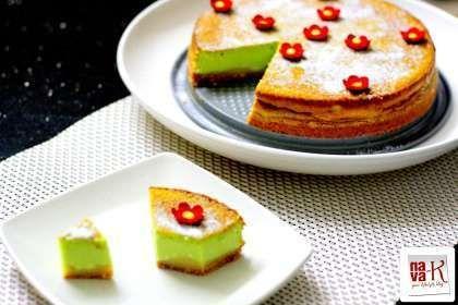 Pandan (Screwpine) Cheesecake