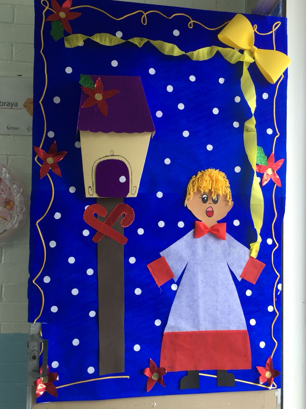 Puerta navide a puertas decoradas puertas decoradas for Puertas decoradas 16 de septiembre
