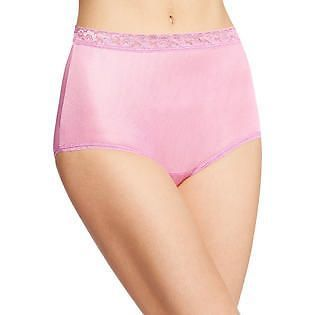 knickers,briefs size 8 S White HANES Comfort Soft Hipster panties underwear