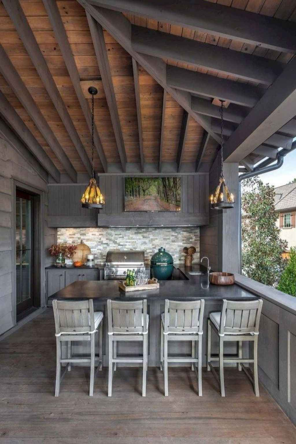 95 Incredible Outdoor Kitchen Design Ideas For Summer Homixover Com Outdoor Kitchen Design Outdoor Kitchen Design Layout Outdoor Kitchen